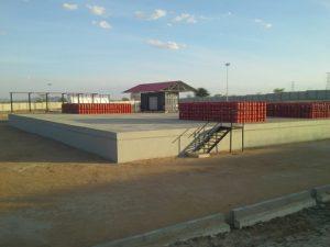 Mnini LPG filling Platform for Oryx Oil Tanzania Limited, Dodoma