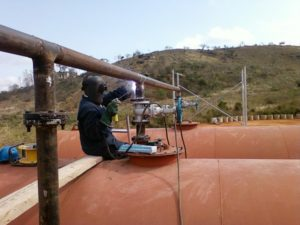 Welding Using Certified Coded Welders